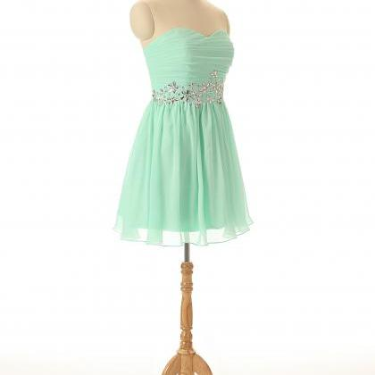 A56 Mint Bridesmaid Dresses,Empire ..