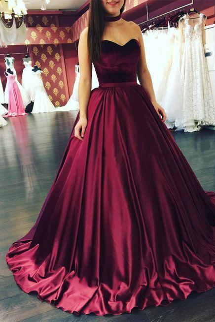 S381 Burgundy Ball Gowns, Burgundy Prom Dresses, Long Prom Dressesm Burgundy Wedding Dresses,Sweetheart Prom Dress,Wedding Gowns,Sexy Wedding Dresses