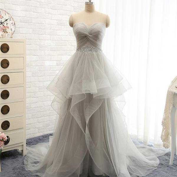 D200 Charming Prom Dress,Sweetheart Prom Dress,A-Line Prom Dress,Tulle Prom Dress,Beading Evening Dress